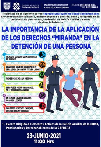 """La importancia de la Aplicación de los Derechos """"Miranda"""" en la detención de una persona"""